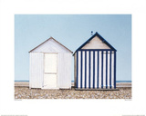 Two At Cayeux Posters by Sylvia Antonsen
