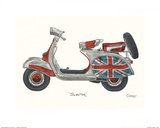 Vespa Prints by Barry Goodman