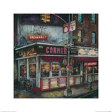 La Esquina, New York Prints by Melissa Sturgeon