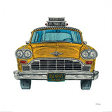 New York Taxi Prints by Barry Goodman
