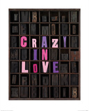 Crazy In Love Print by Howard Shooter