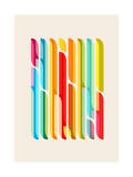 Test Tube Tune Giclee Print by Budi Kwan