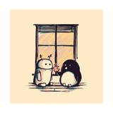 Best Friends Giclee Print by Budi Kwan