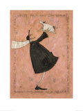 Having the Time of my Life Poster by Sam Toft