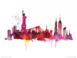 New York Skyline Prints by Summer Thornton