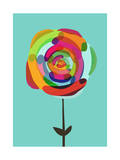 Rose by Any Other Color Giclee Print by Budi Kwan
