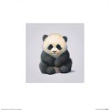Panda Pósters por John Butler Art