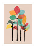 Tropical Forest Giclee Print by Budi Kwan
