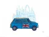 Mini London Posters by Barry Goodman