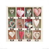 Hearts Collection Posters by Howard Shooter