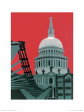 St. Paul's Cathedral Print by Jennie Ing