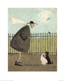 Singing Lessons Posters by Sam Toft