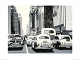 Heavy Traffic Posters by Alain Bertrand