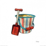 Bucket & Spade Posters by Barry Goodman