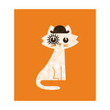 Mark Clockwork Orange Giclee Print by Budi Kwan