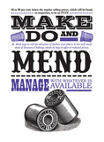 Make Do And Mend Posters