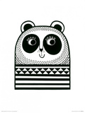 Happy Panda Prints by Jane Foster