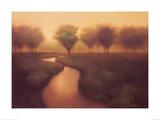 Red Creek Prints by Darlou Gams