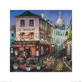 Le Consulat, Paris Print by Melissa Sturgeon