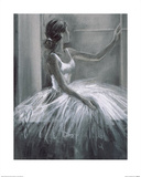 Bailarina Póster por Hazel Bowman