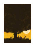 Under Giant Oak Tree Giclee Print by Budi Kwan