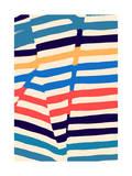 Fold Beach Giclee Print by Budi Kwan