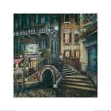 Trattoria al Ponte, Venice Prints by Melissa Sturgeon