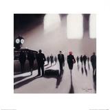 Grand Central Station Rendezvous - New York Plakat af Jon Barker