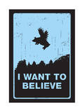 I Want to Believe Giclee Print by Budi Kwan