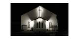 Church on Highway in Cayucos, CA Photographic Print by Stephen Vaughan