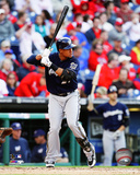 Milwaukee Brewers - Carlos Gomez 2014 Action Photo