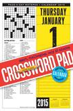 Crossword - 2015 Desk Pad Calendar Calendars