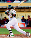 Oakland Athletics - Yoenis Cespedes 2014 Action Photo