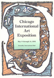 Chicago International Art Exposition Affischer av Pierre Alechinsky