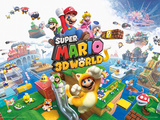 Super Mario - 3D World Poster Masterprint