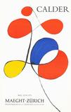 Maeght Zurich Reproductions pour les collectionneurs par Alexander Calder