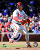 Philadelphia Phillies - Cliff Lee 2014 Action Photo