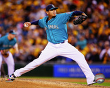 Seattle Mariners - Felix Hernandez 2014 Action Photo