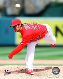 Los Angeles Angels - C.J. Wilson 2014 Action Photo