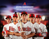 Arizona Dbacks 2014 Team Composite Photo