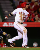 Los Angeles Angels - Josh Hamilton 2014 Action Photo