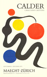 Crags and Critters Collectable Print by Alexander Calder