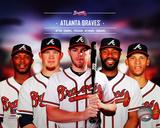 Atlanta Braves 2014 Team Composite Photo