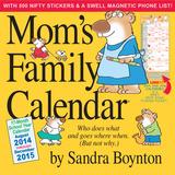 Mom's - 2015 Family Calendar Calendars