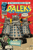 Doctor Who - The Daleks Comic Prints