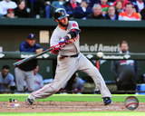 Boston Red Sox - Dustin Pedroia 2014 Action Photo