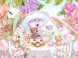 Tea Bunnies Teddy Bear Tea Kunst