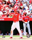 Los Angeles Angels - Mike Trout 2014 Action Photo