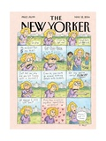 Mother's Day - The New Yorker Cover, May 12, 2014 Regular Giclee Print by Roz Chast