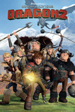 How to train your Dragon 2 - Cast Plakater